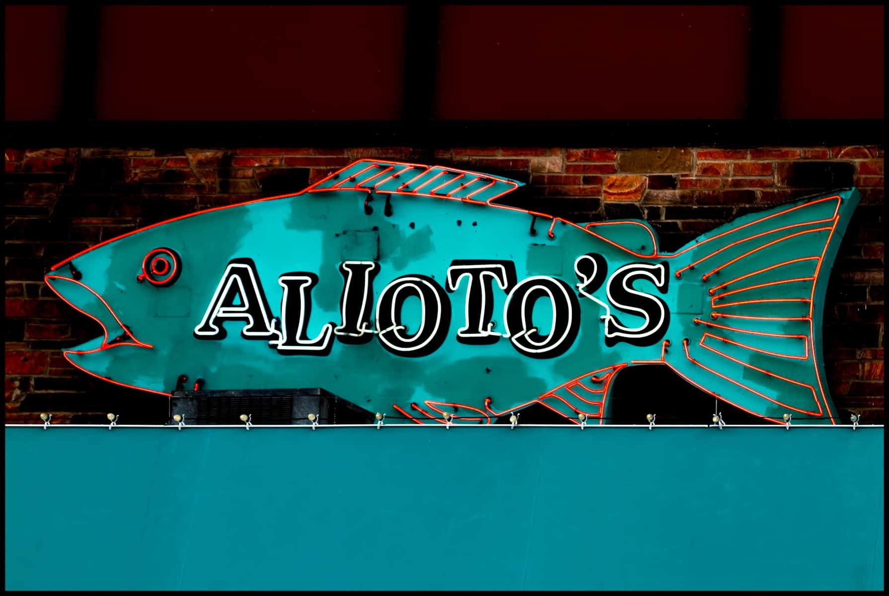 Alioto's Menus