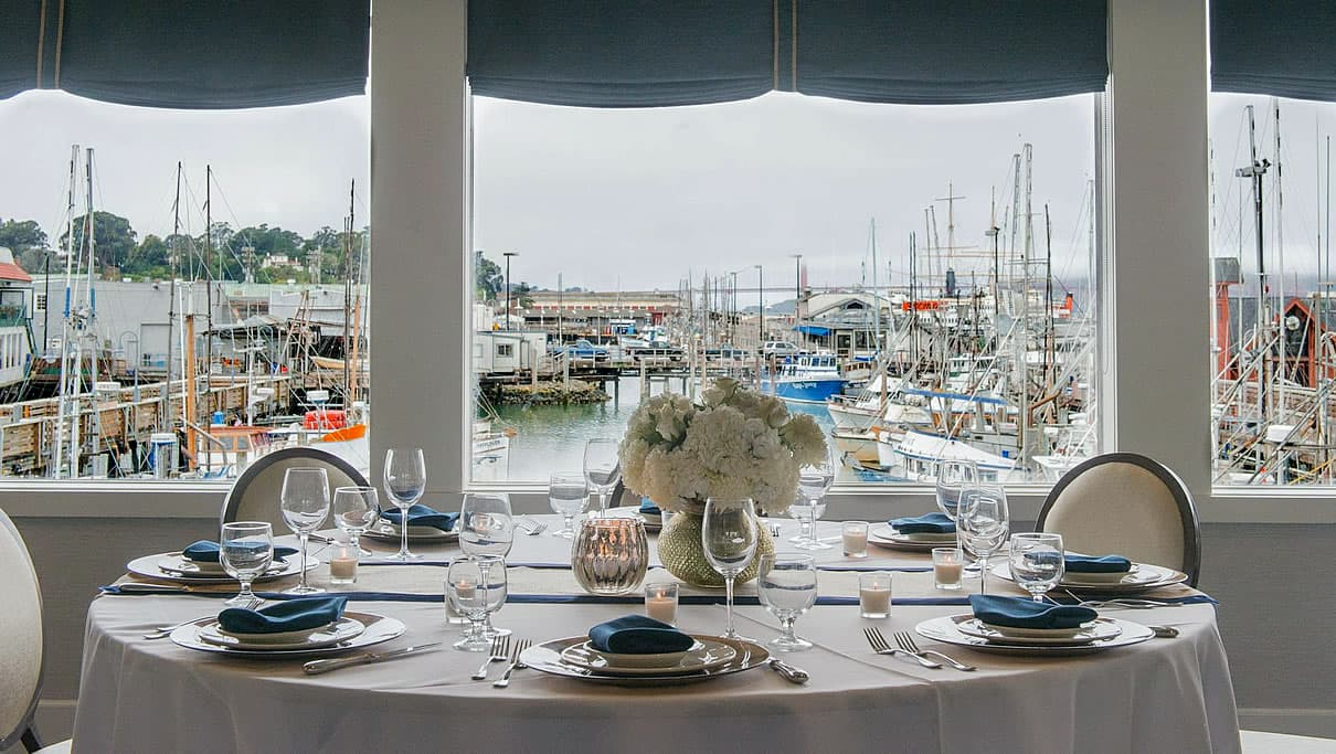 private dining fishermans wharf