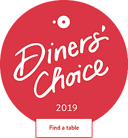 OpenTable Diners Choice 2019